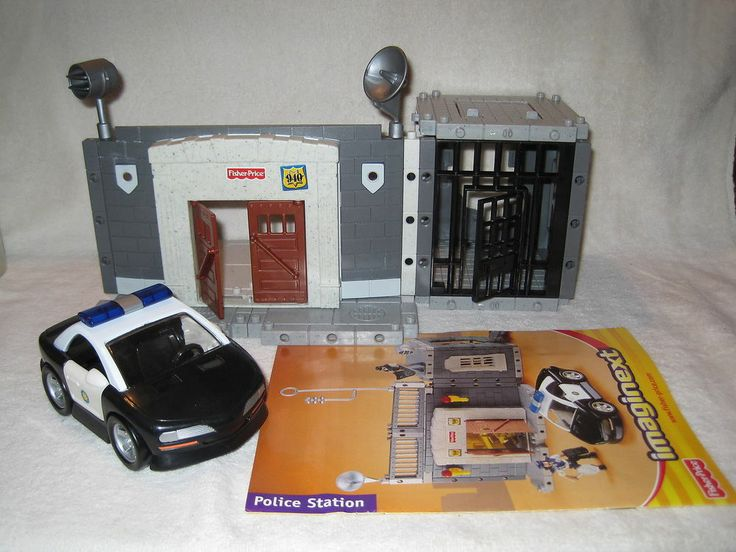 Fisher Price Imaginext Police Station Amp Car Parts