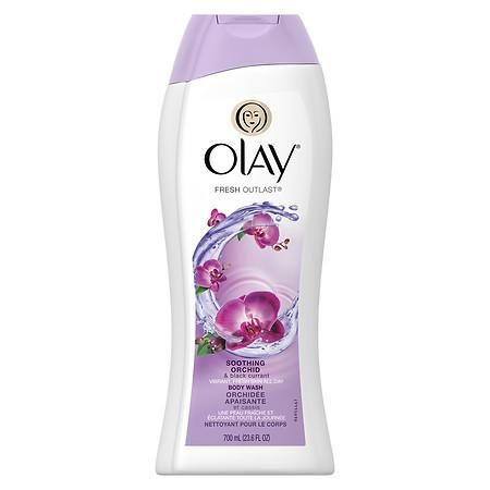 Olay Fresh Outlast Body Wash Soothing Orchid & Black Currant - 23.6 oz.