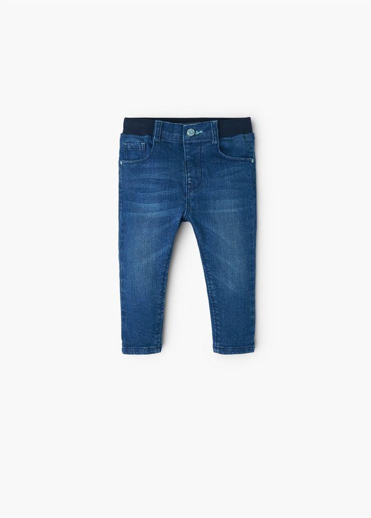 Drawstring waist jeans | MANGO KIDS