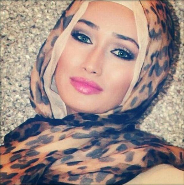 Leopard Printed Hijab Fall/Winter 2013 Trends