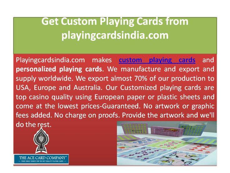 Make Custom Playing Cards Part - 43: We Make Personalized Playing Cards And Custom Game Cards