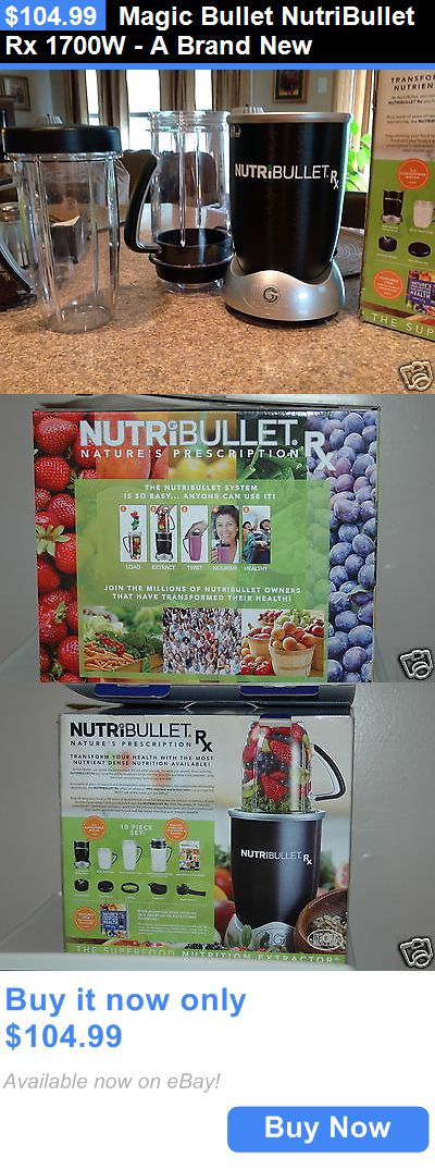 Small Kitchen Appliances: Magic Bullet Nutribullet Rx 1700W - A Brand New BUY IT NOW ONLY: $104.99
