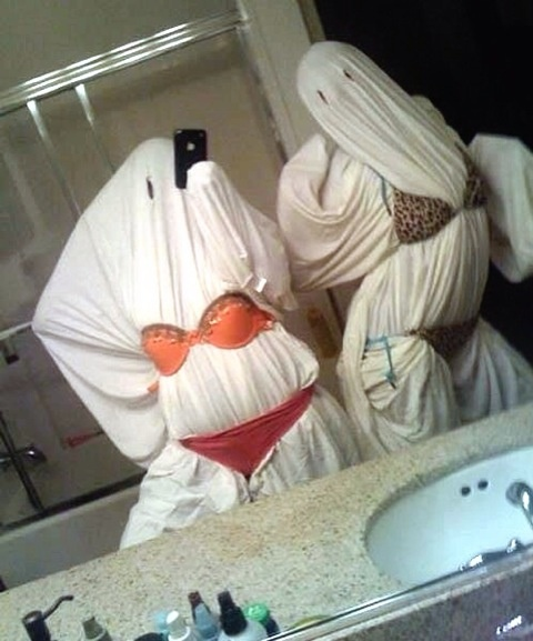 Lmfao slutty ghost costume!!!
