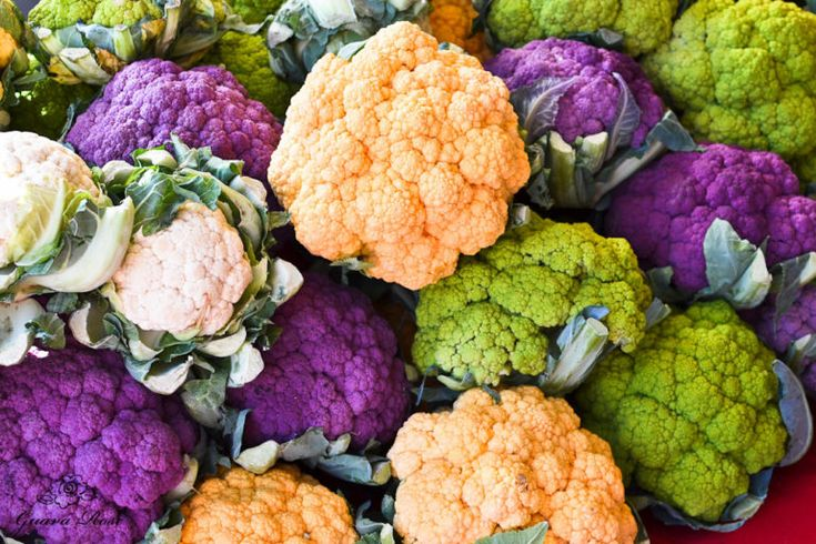 Multicolored Cauliflower