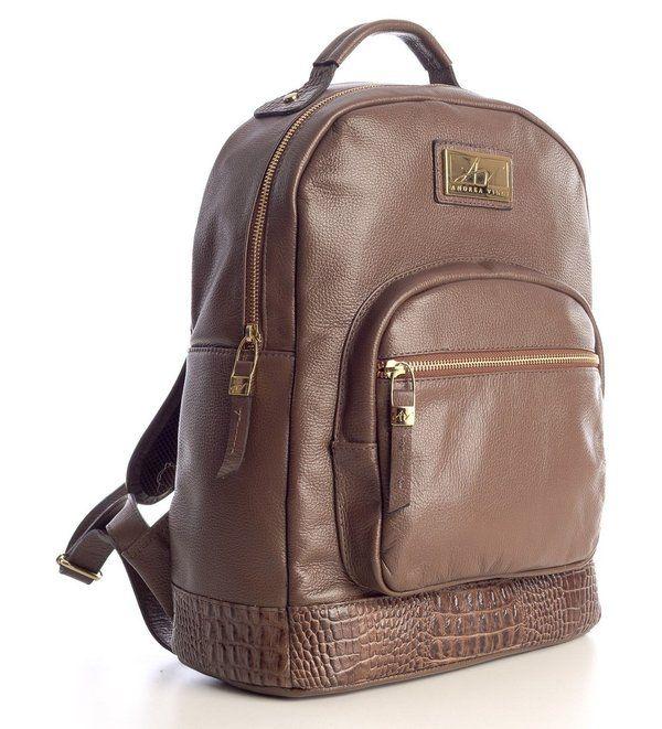 Bolsa De Couro Legitimo Pequena : Ideas about mochila de couro feminina on
