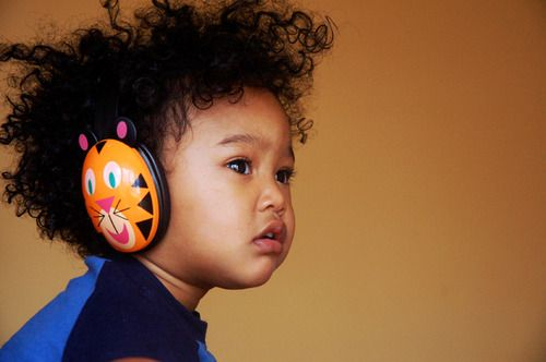 Amazon.com : Califone 2810-TI Kids Stereo and PC Headphones, Tiger Design : Toddler Headphones : Electronics