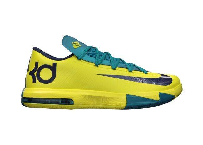 Nike KD VI Men's Basketball Shoe  Ball it up in style with the lightest, most maneuverable shoes to hit the Nike racks as of yet.