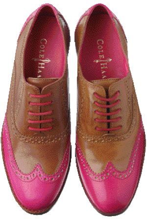 I just love the way these Cole Haan Men's pop. This Seasons Air Sole base includes a splash of Pink... Way to be both stylish comfortable in 2012 #TeamNike/ProFashional
