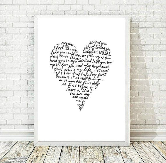 Printable Art, Art Print, Black and White Wall Art, Valentine Printable, Minimal Ink Painting, Love Print, Home Decor, INSTANT DOWNLOAD by AthinArtPrint on Etsy