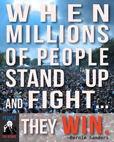 BernieSanders is fighting for the 99%. Bernie Sanders For President