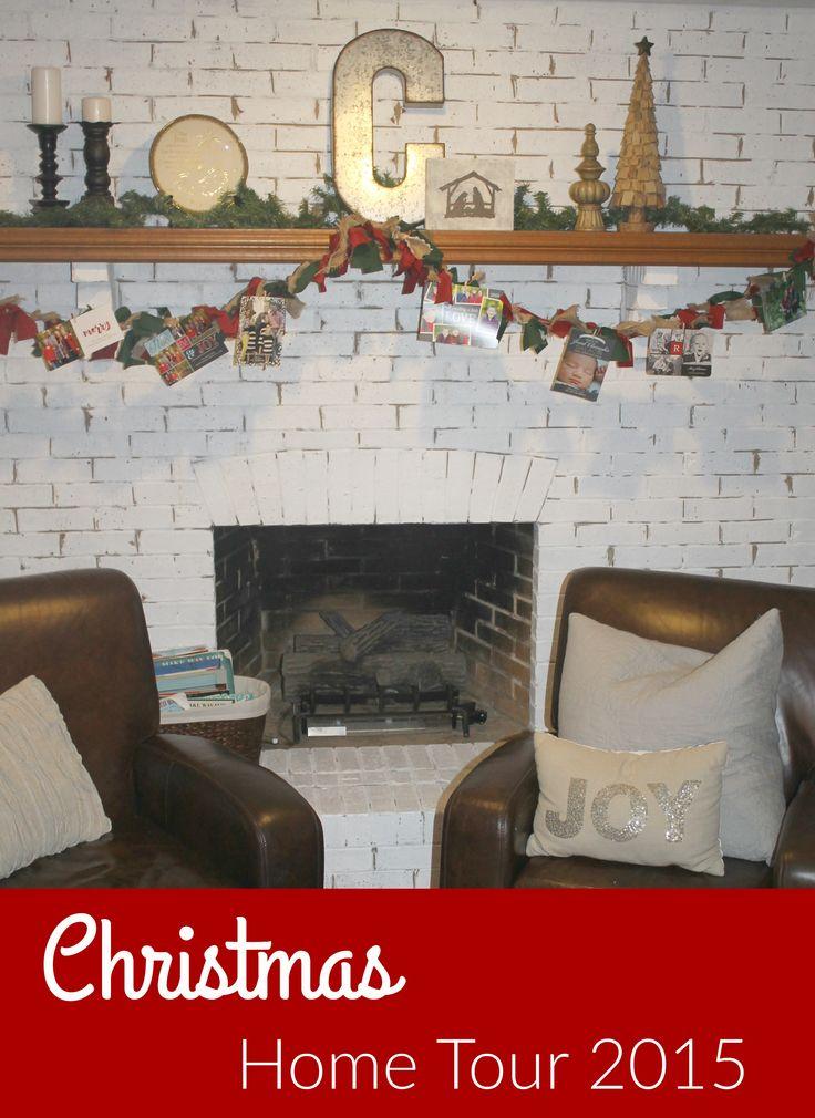 Christmas Home Tour 2015 Christmas Pinterest
