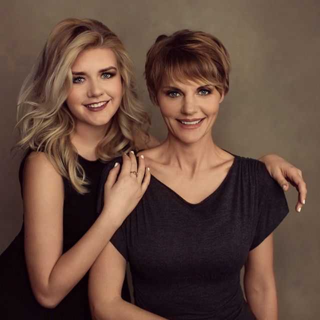 This GORGEOUS mother & daughter came into my studio this week for a mother/daughter portrait session. I can't get over how beautiful they both are! We had such a blast spending the day with these super fun, kind, and loving women.  www.emilylondonportraits.com  #emilylondonportraits #photoshoot #saltlakecity #photographer
