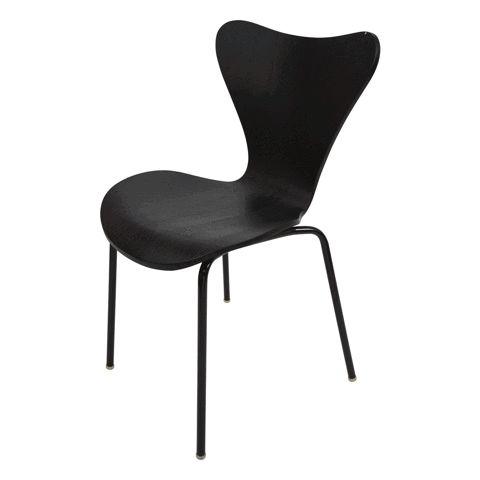 Alva Dining Chair | Oak & Steel | Mid Century | Buy at Schots in Melbourne & Geelong, Australia
