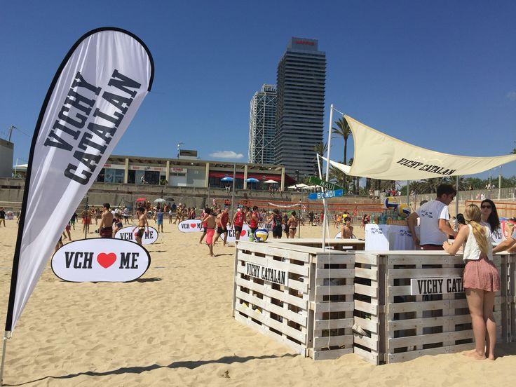 https://flic.kr/p/uDBsym | Evento #VCHVoley, en la playa de Nova Icària Barcelona