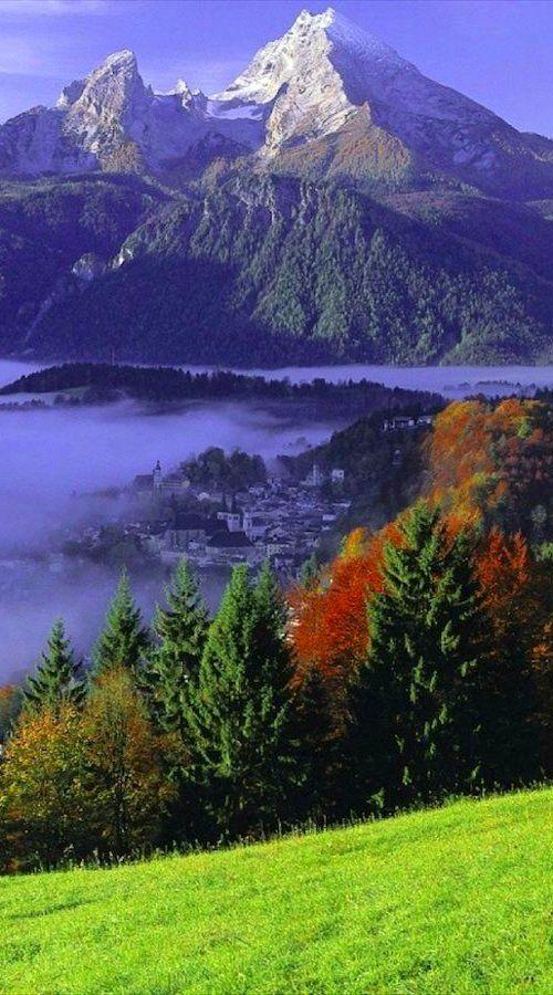 Watzmann mountain ~ Bavarian Alps, Bavaria, Germany