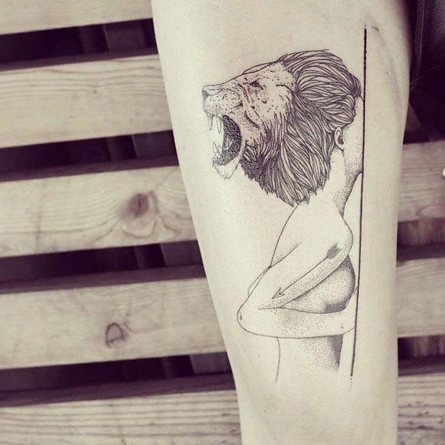 Best Tattoos Images On Pinterest Geometric Tattoos Greece - Beautifully simple animal tattoos by cheyenne
