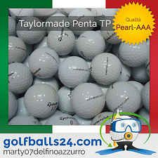 50 TAYLOR-MADE TP-RED, TP-BLACK PALLINE PALLE DA GOLF USATE CAT. PEARL-AAA