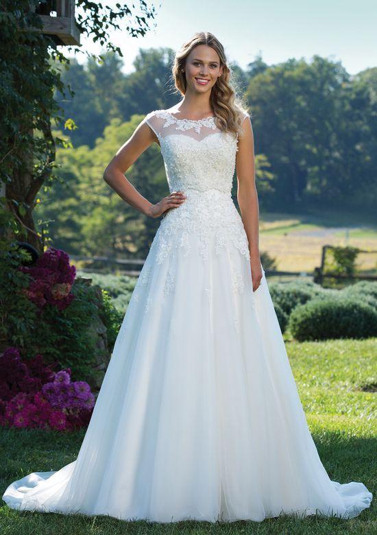Justin Alexander 3771 Ivory Size 12 New York Bride Groom Of