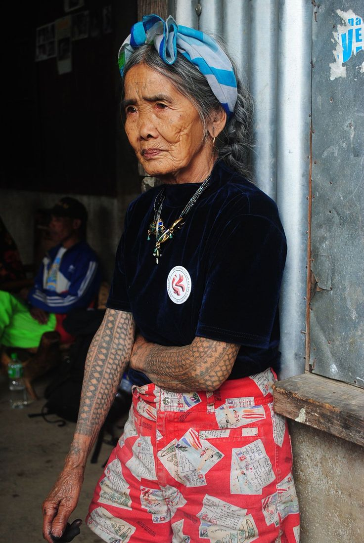 95-Year Old Tattoo Artist From the Philippines