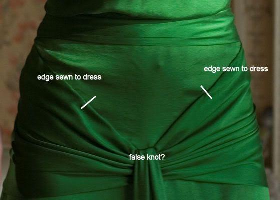 Green Atonement Dress