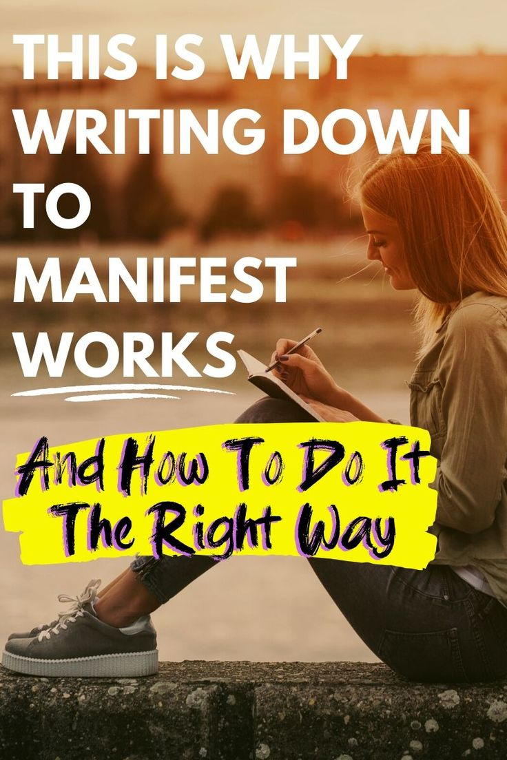 Why Writing Things Down to Manifest Works   Manifestation