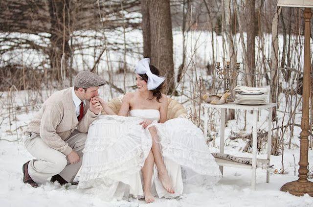 Winter wedding ideas....