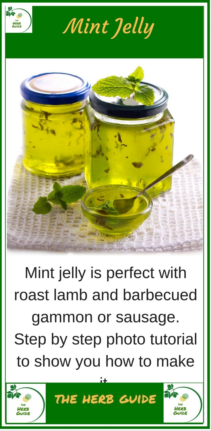 The perfect accompniament to lamb, apple mint jelly. Step by step instructions with photos to guide you through the process. It's easy
