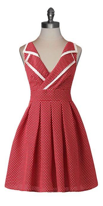 Retro pinup dress