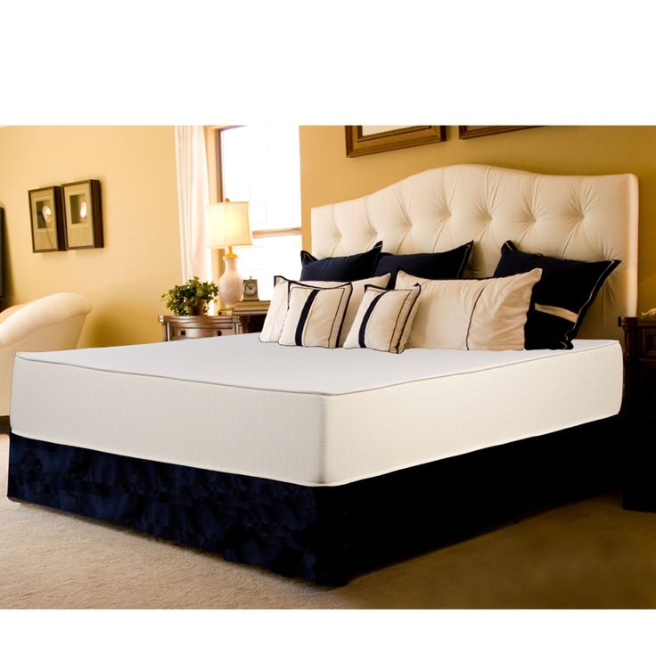 Select Luxury Flippable 12 Inch Queen Size Foam Mattress
