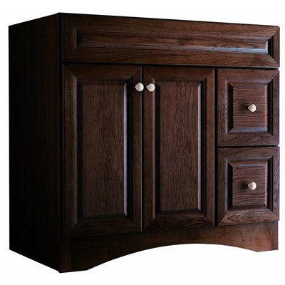 2ND CHOICE  Style Selections Northrup 36 Inch Espresso Espresso  Traditional Oak Bathroom Vanity. 17 Best ideas about 36 Inch Bathroom Vanity on Pinterest   Small