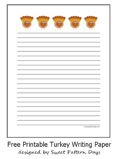 thanksgiving writing paper with lines Thanksgiving writing paper free printable templates admin | february 19, 2018 | general during thanksgiving there are many people who write thanksgiving letters to friends, family members and relatives and to god to thanks them for everything.
