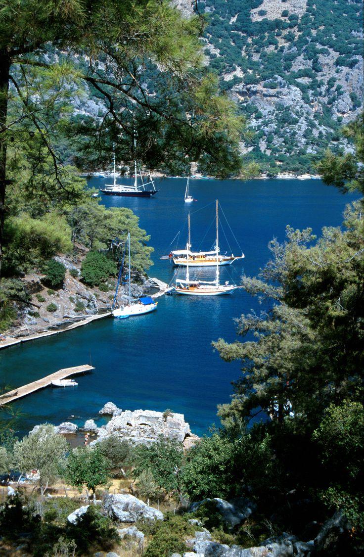 Ölüdeniz is a small village on the Turquoise Coast of southwestern Turkey