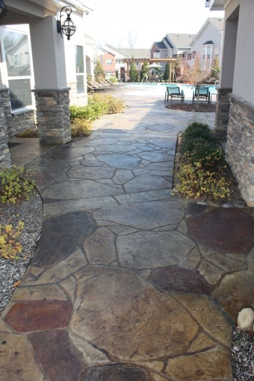 Arizona Flagstone Concrete Stamp Www Calicoproducts Com