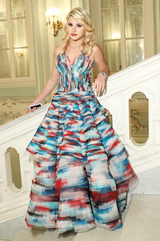 Анастасия Гуревич в Jean Paul Gaultier Houte Couture, 2012 год.  Бал дебютанток Tatler.