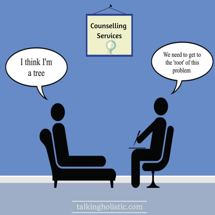 A little bit of humour from the counselling room! # ...