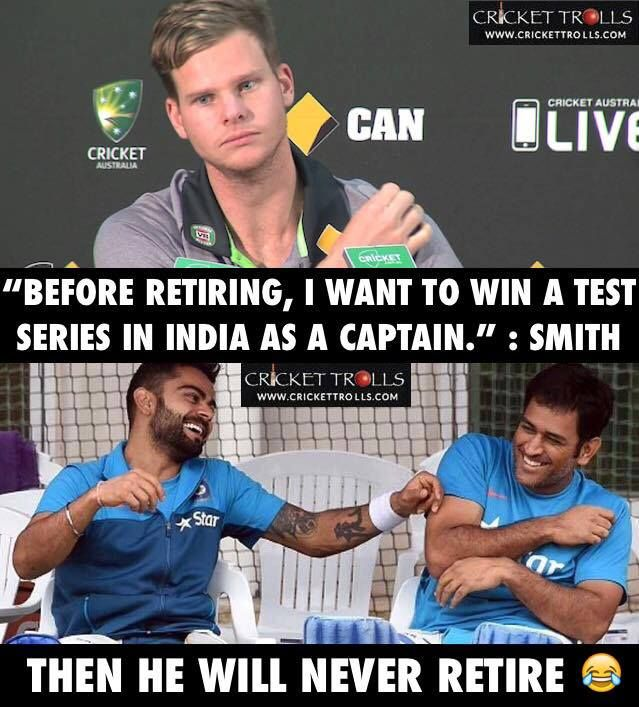Steve Smith wants to win a Test series in India as a captain before retirement #INDvAUS - http://ift.tt/1ZZ3e4d
