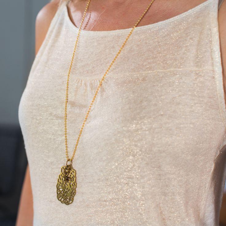 Vanity singlet - golden melange