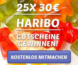 Haribo - Gummibärchen im Wert von 750€ gewinnen!