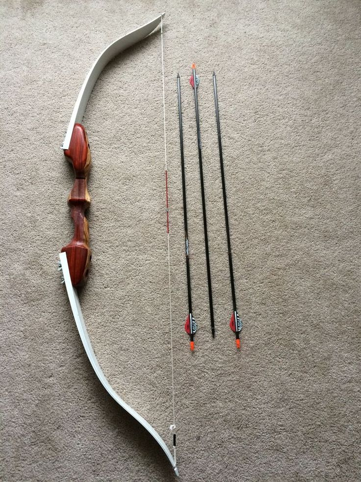 DIY Takedown Recurve Bow from Skis