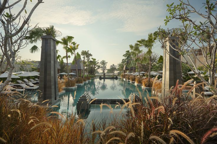 Magnificent swimming pool at Sofitel Nusadua