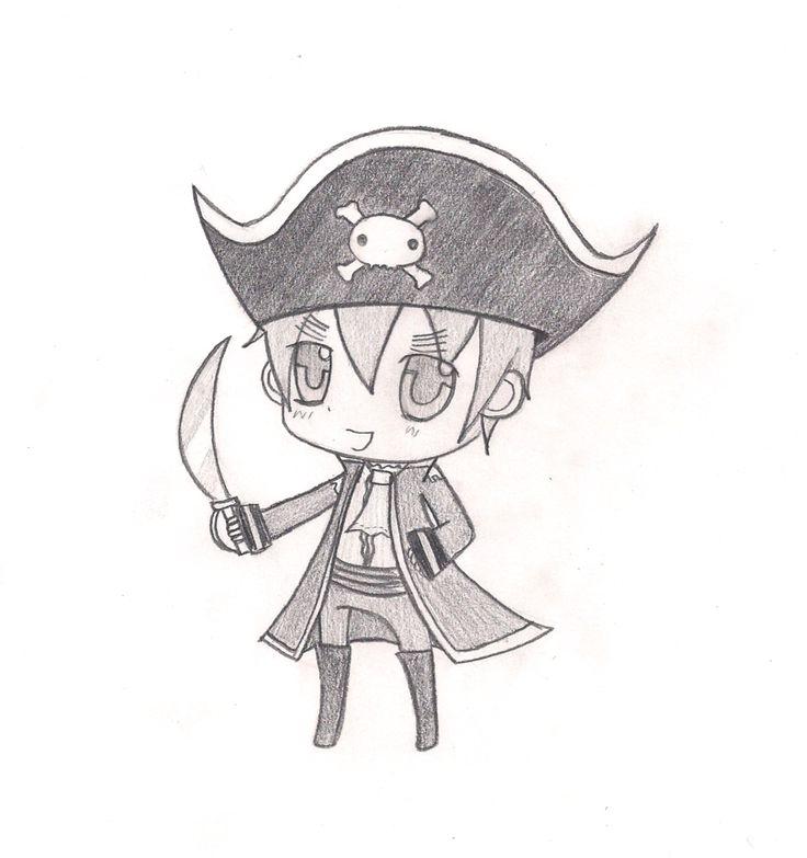 chibi england   Chibi England Pirate Sketch By darkstargirl77 On Deviantart wallpaper