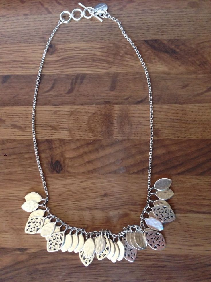 Lois Hill Sterling Silver Marquis Necklace-New  #LoisHill #Chain