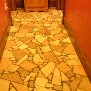 Broken Tiles Flooring Ideas