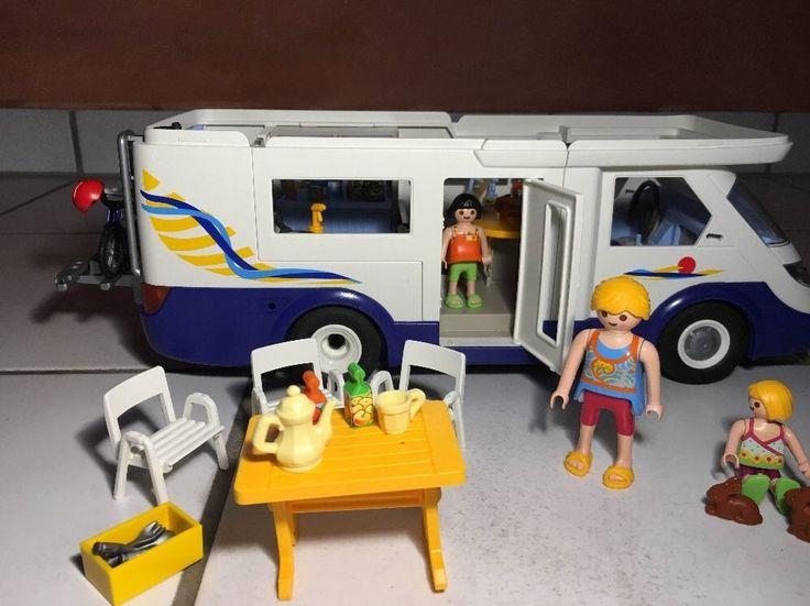 Playmobil Familien-Wohnmobil 4859 Reisemobil Campingbus