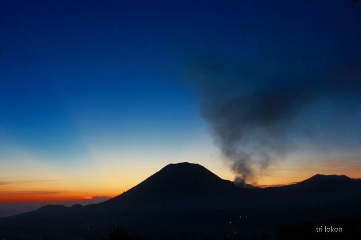 Sunset in Mt. Lokon