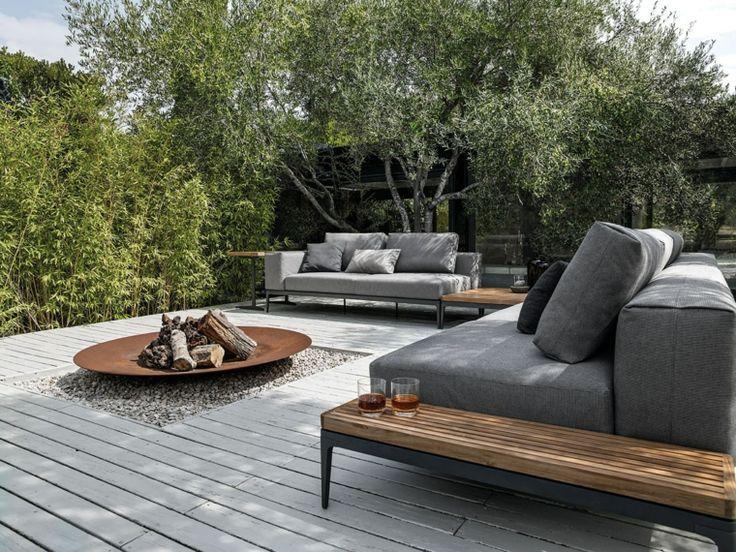 Dekoration von Terrassen und modernen Gärten