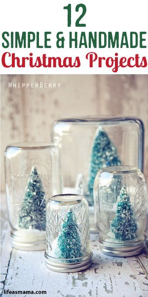12 Simple & Handmade Christmas Projects