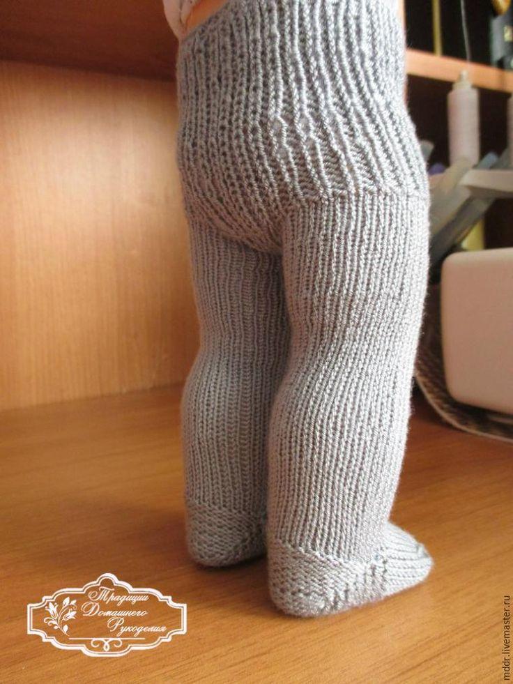 Вяжем колготки для куклы - Ярмарка Мастеров - http://www.livemaster.ru/topic/1615935-vyazhem-kolgotki-dlya-kukly