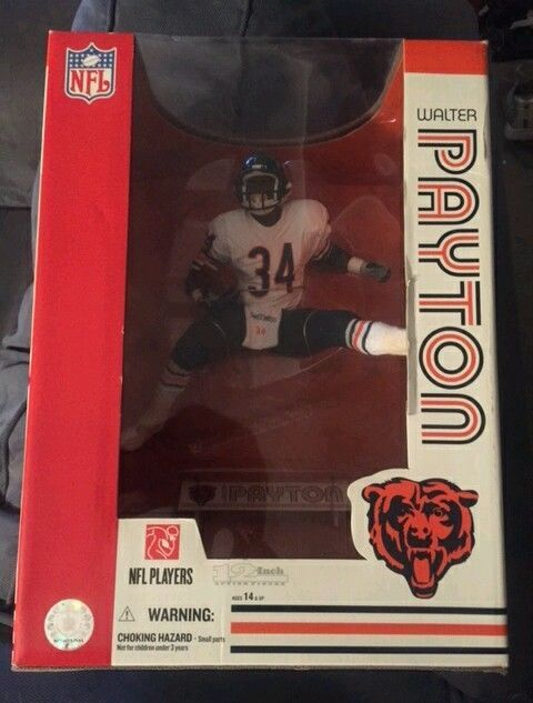 "Mcfarlane #NFL Legends Walter Payton #Chicago #Bears 12"" Figure Statue ""sweetness"" from $89.99"