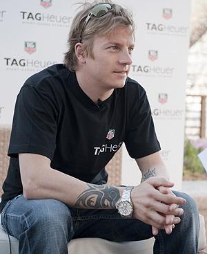 Kimi Räikkönen is always different...always fascinating.